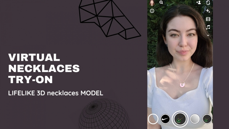 Virtual Try-on necklaces