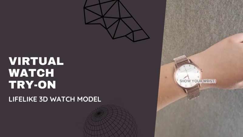 Virtual Try-on Watches